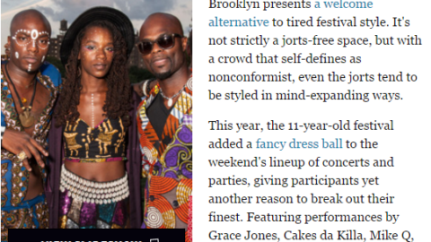Kwabs Couture highlighted at NY's Afropunk Festival